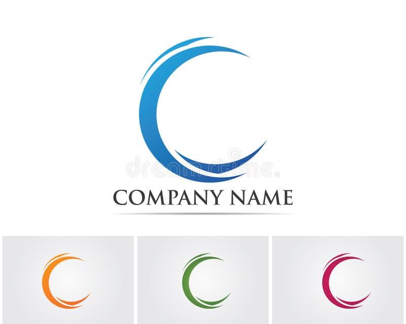 Letter C Logo Template Design Vector.. royalty free illustration