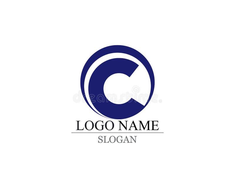 Letter C Logo Template Design Vector vector illustration