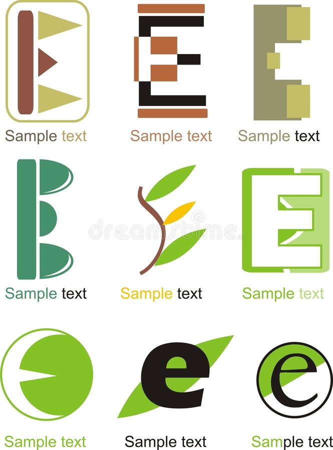 Free Letter E Logo Royalty Free Stock Images - 31923979