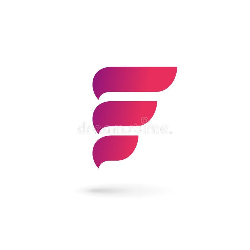 Letter E logo icon design template elements. Letter E logo icon design royalty free illustration