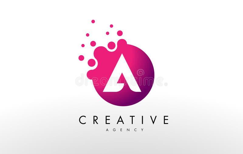 Letter en logo En vektor för bokstavsdesign royaltyfri illustrationer