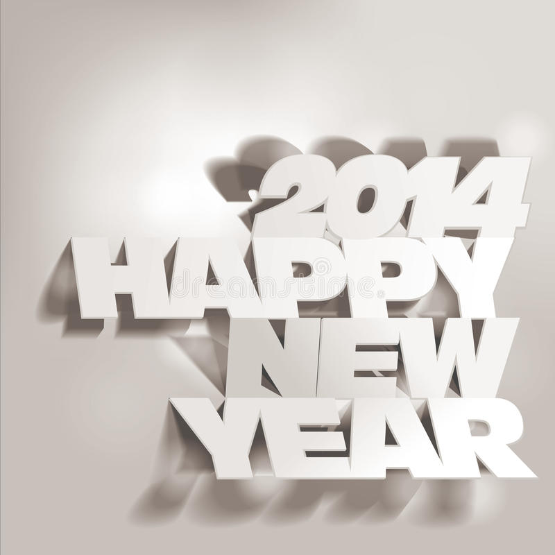 Download 2014:  Letter Folding With Paper, Happy New Year Stock Images - Image: 33829704
