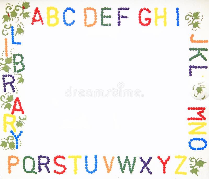 letter frame stock photo image of details concept card 34523048