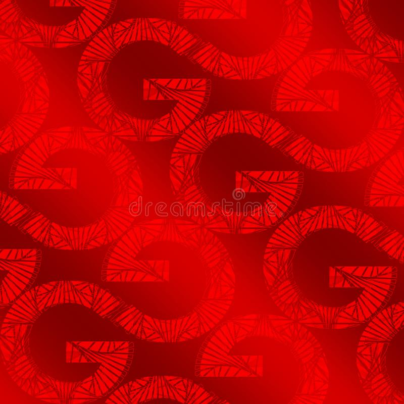 Letter G Abstract golden Background design. Golden pattern concept can be used for wallpaper, wrapping paper, Luxury and royal royalty free stock images