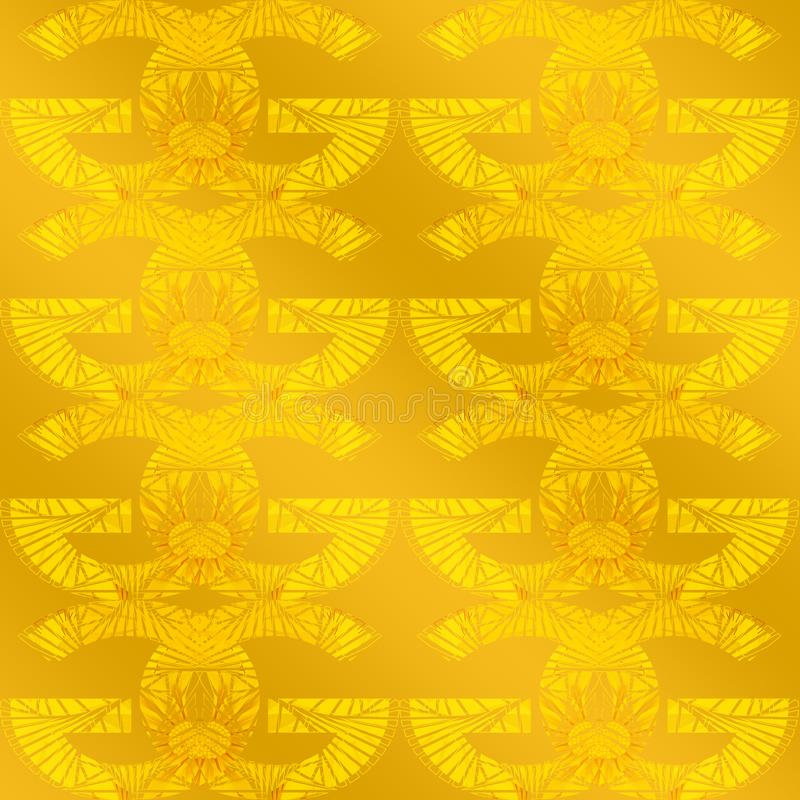 Letter G Abstract golden Background design. Golden pattern concept can be used for wallpaper, wrapping paper, Luxury and royal royalty free stock image