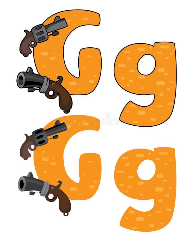 Download Letter G Gun Stock Photos - Image: 26359193