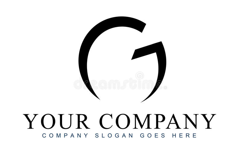 Letter G Logo stock illustration