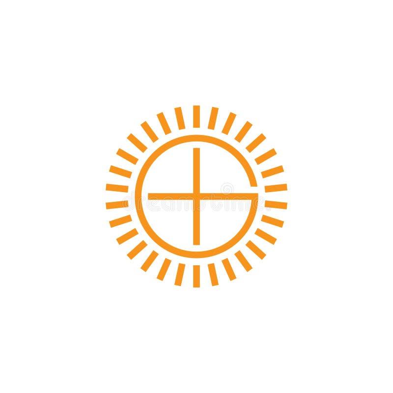 Colorful Cleaning Service Logo: Letter E Sun Shine Spiral Shape Logo Vector Stock Vector