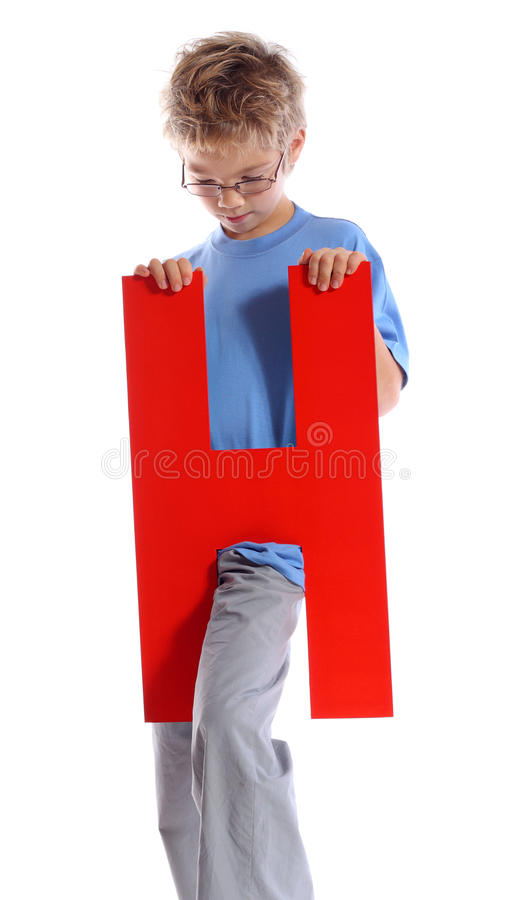 Letter H Stock Image