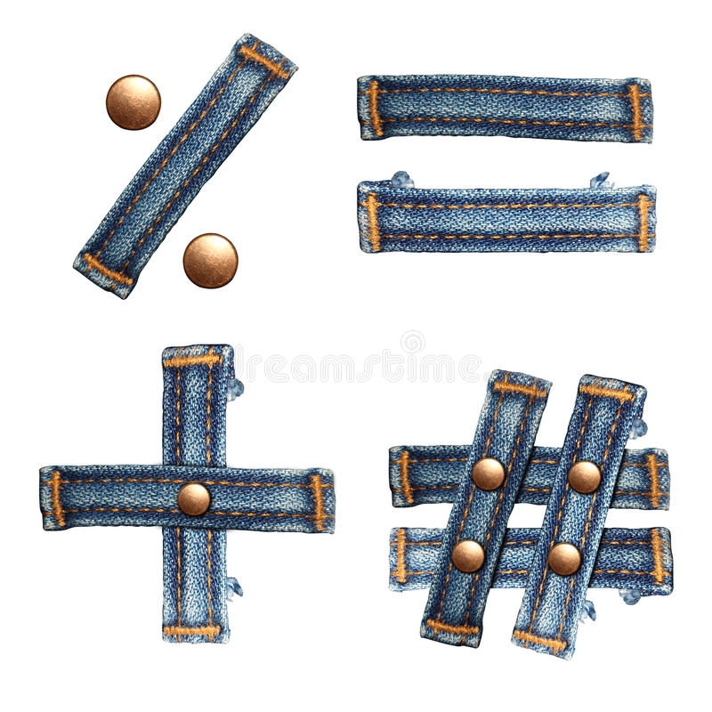 Download Letter Of Jeans Alphabet Royalty Free Stock Photos - Image: 25540568
