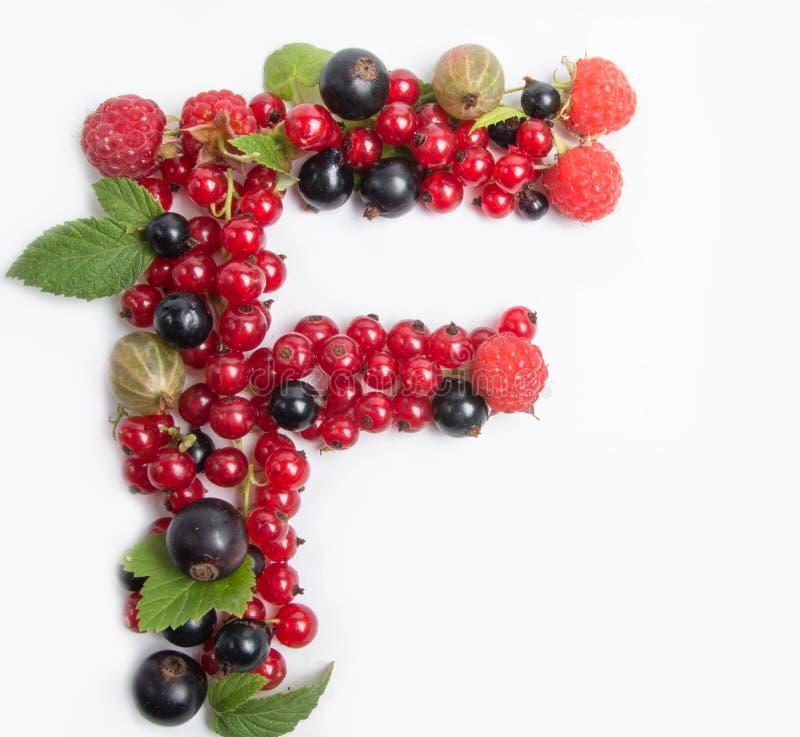 letter of juicy fruit f stock image image of white vitamins 57145721. Black Bedroom Furniture Sets. Home Design Ideas