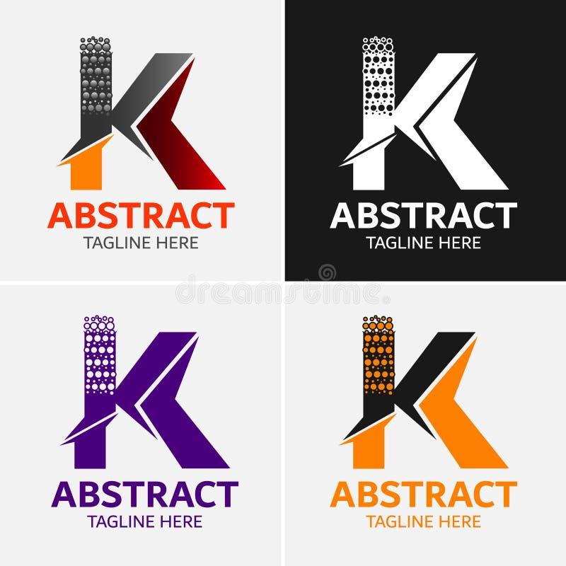 Letter K Logo Icon Design Template Elements Stock Vector ...