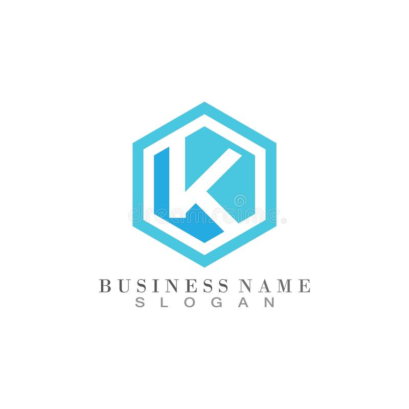Letter K logo template business icon vector. Letter K logo template business icon vector, abc, accurate, achieved, advertising, alphabet, arrows, attorney, best vector illustration
