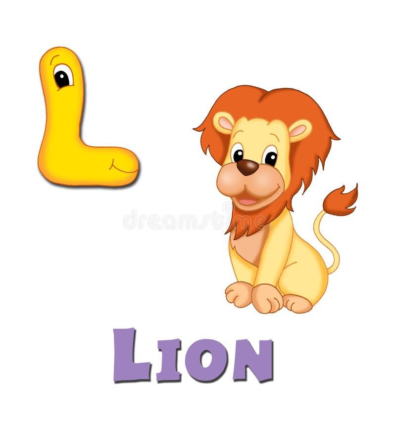 Letter L vector illustration