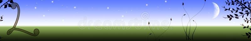 Download Letter L banner stock illustration. Image of computer - 4789717