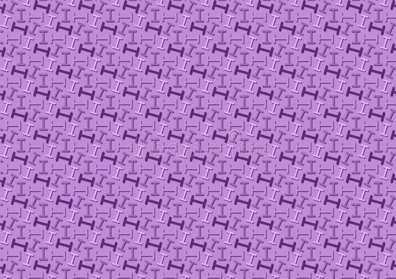 Letter I pattern in different purple colored shades for wallpaper. Use and backgrounds, alphabet, backdrop, black, capital, colour, dark, design, directions vector illustration