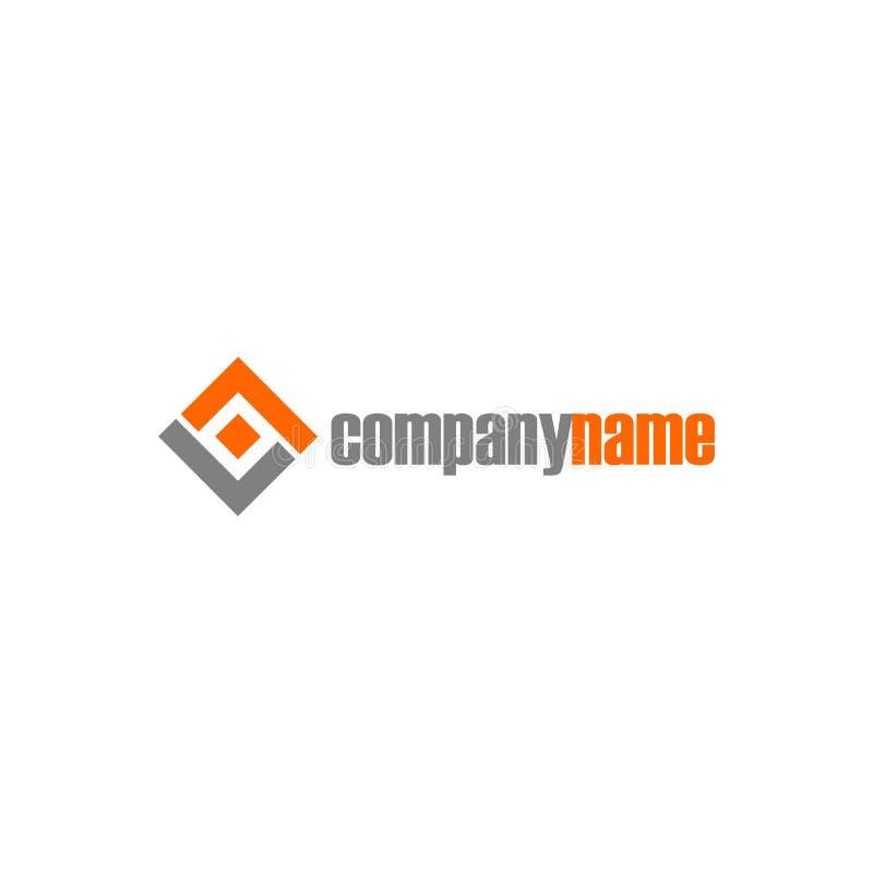 Letter LL Alphabet Company Λογότυπος, Αφηρημένο Λογότυπο Τετράγωνο Πρότυπο Design, Λογότυπος Εικονογράμματος απεικόνιση αποθεμάτων
