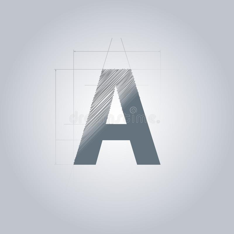 Letter a logo alphabet logotype architectural design grey color download letter a logo alphabet logotype architectural design grey color blueprint with malvernweather Gallery