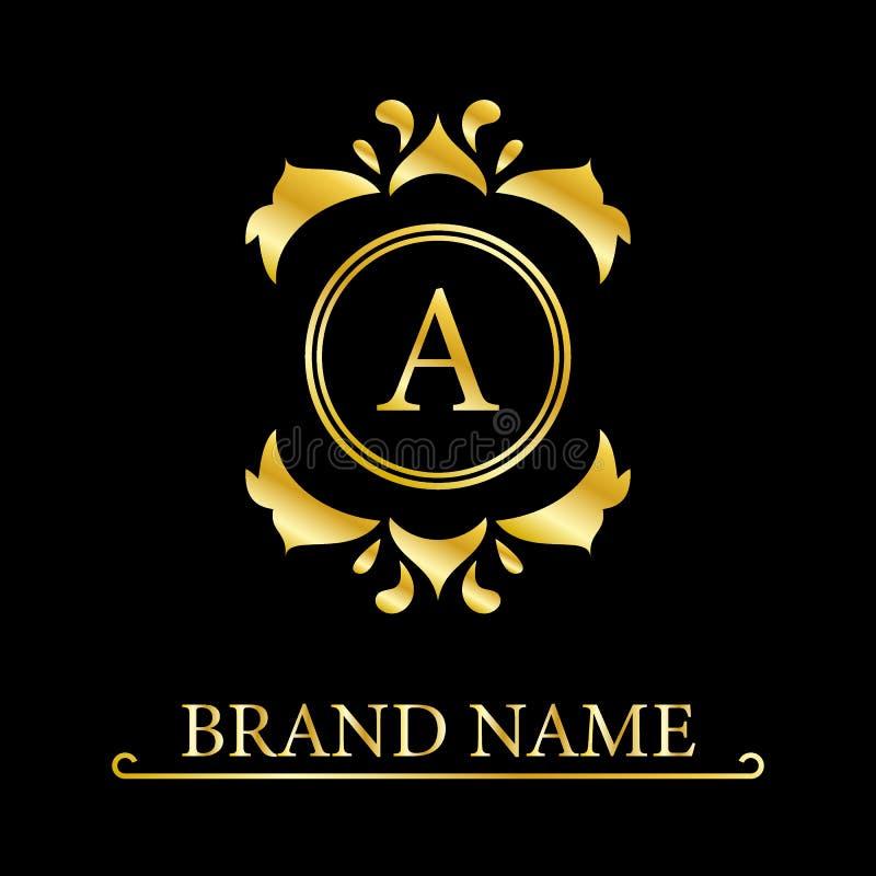 Letter A logo design template element. Minimal unique modern creative trendy business initial based icon logo. Vector illustration vector illustration