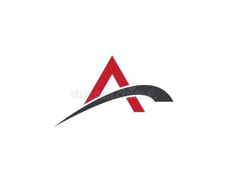 A letter logo stock illustration