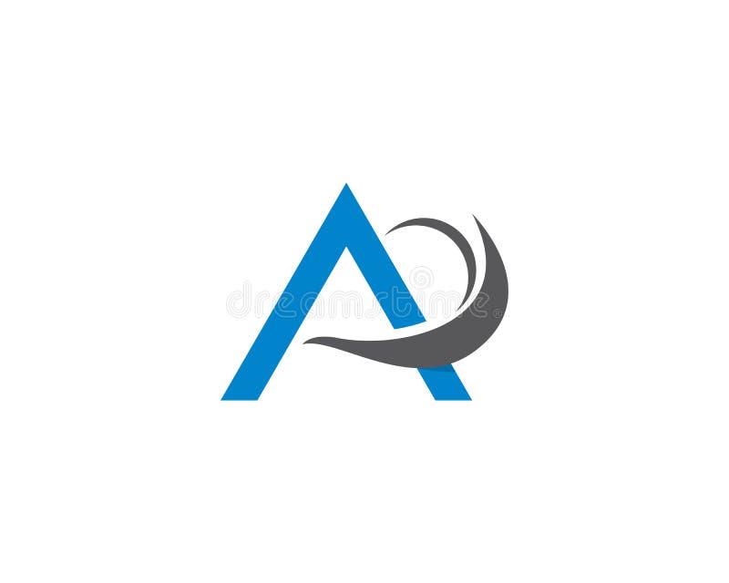 A letter logo vector stock illustration