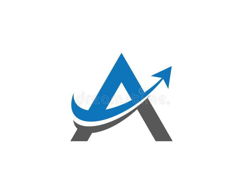 Letter a symbol illustration design. A letter logo vector icon illustration design, corporate, abstract, symbol, font, abc, accurate, achieved, advertising stock illustration