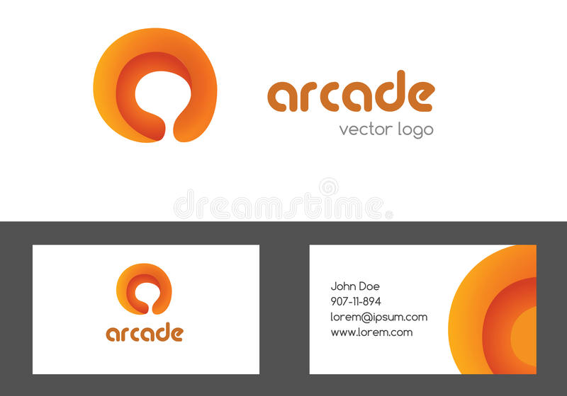 Letter a logotype and bussines card design. Multipurpose creative colored logo. A letter corporate logo design. vector illustration