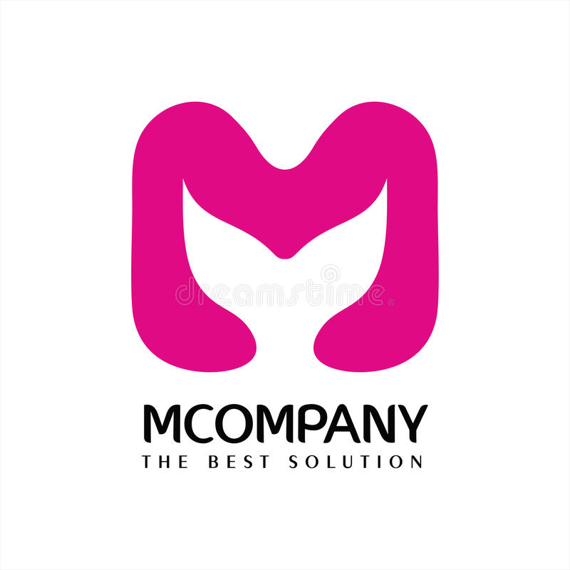 Letter M Company Logo Vector libre illustration