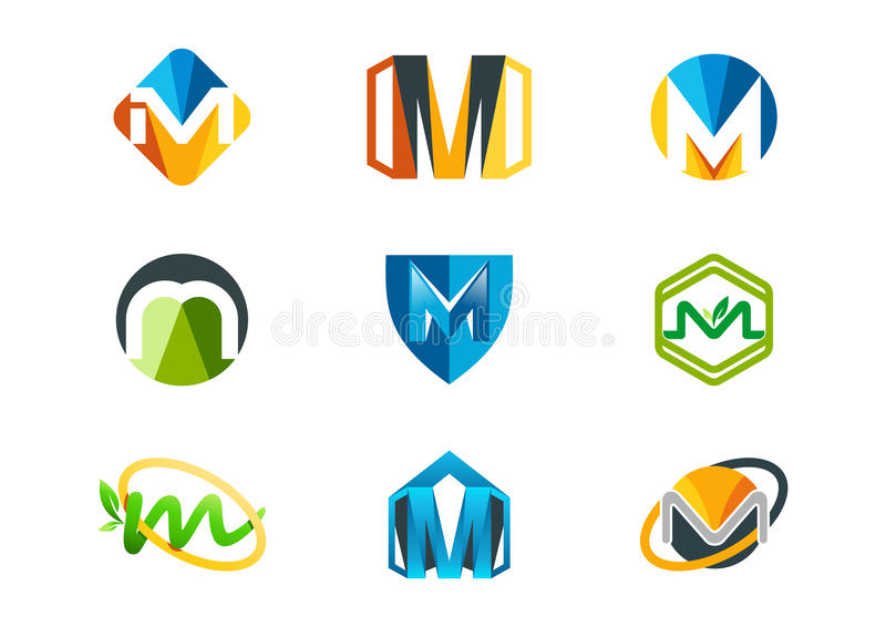 Letter m logo vector illustration