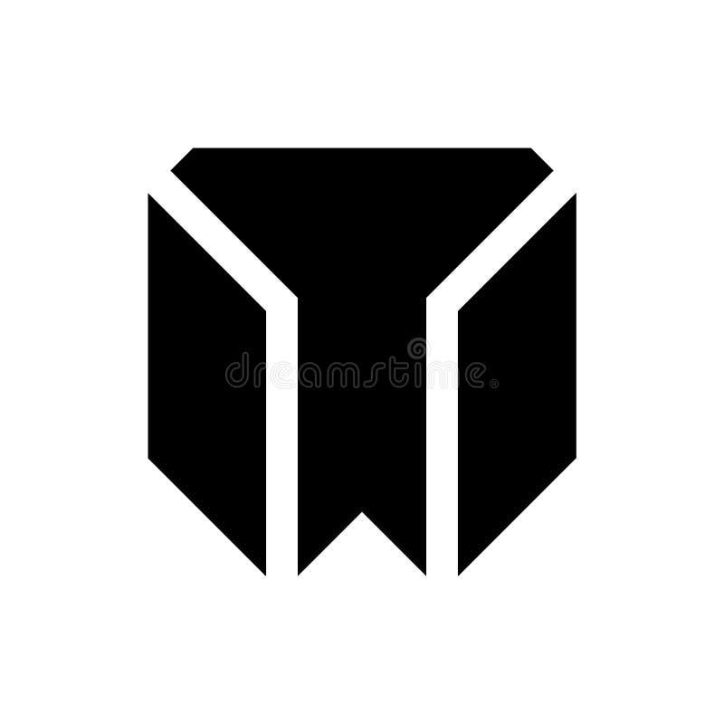 Flat M Letter logo vector vector illustration