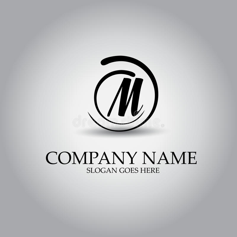 Free Letter M Logo Design Concept Royalty Free Stock Photo - 96784825