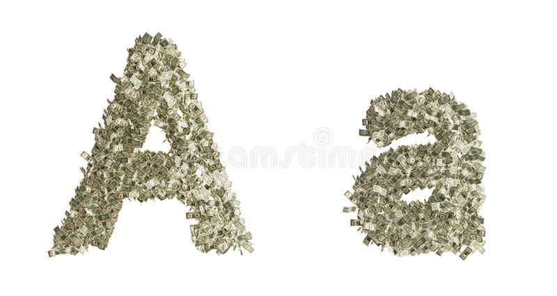 Download Letter A stock illustration. Image of counterfeiting - 33129589