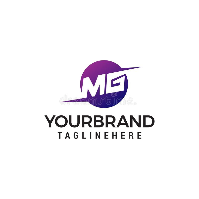 Free Letter MG Logo Design Concept Template Stock Photos - 148302993