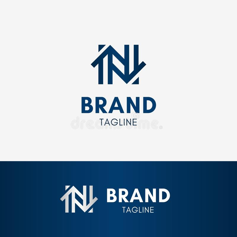 Letter N Home Logo Stock Vector Illustration Of Build 107853462