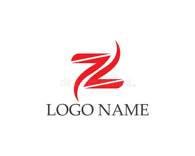 Letter n vector icons logos royalty free illustration