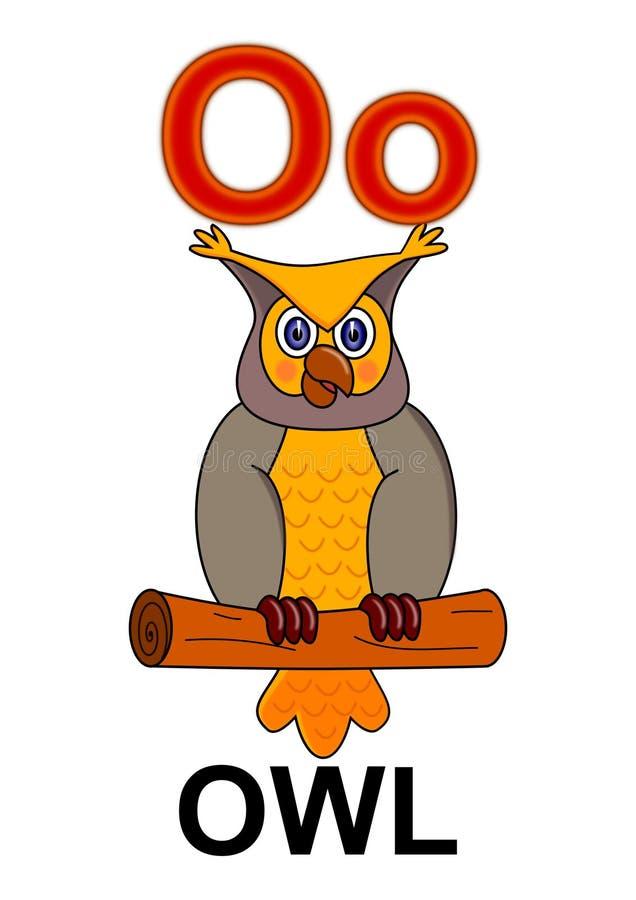 Free Letter O Owl Stock Photos - 17804003