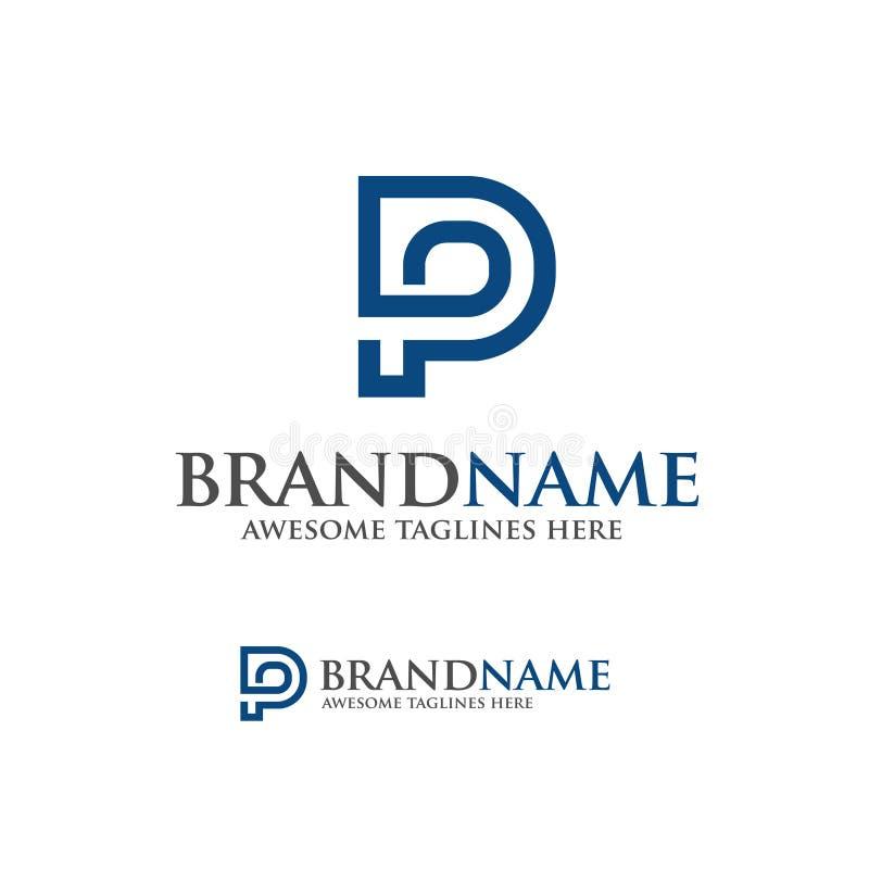 Letter P logo vector. Illustration template, letter P trend logo vector, creative Letter P letter logo vector illustration