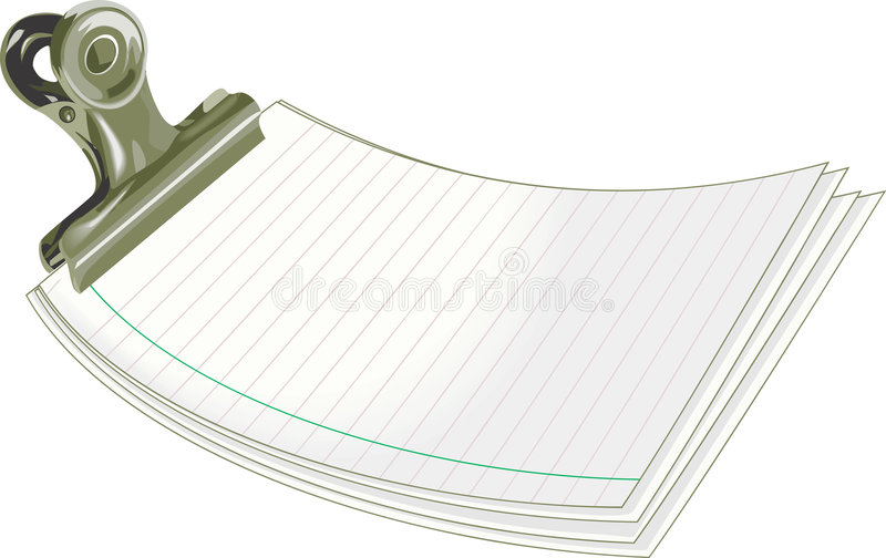 Letter Pad Royalty Free Stock Photography