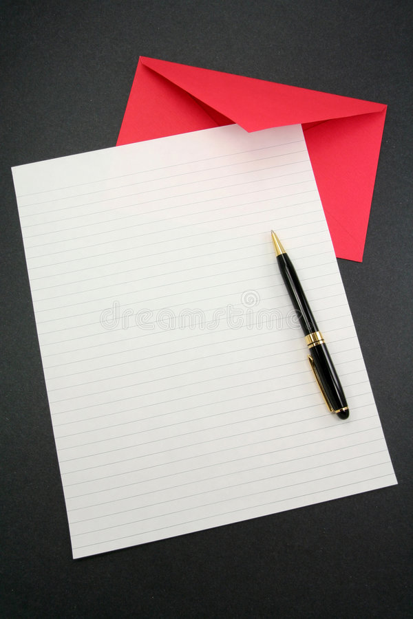 Free Letter Paper And Envelope Royalty Free Stock Images - 1971199