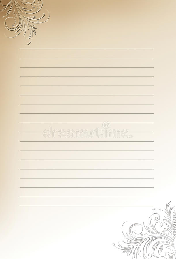 Letter paper background royalty free stock images
