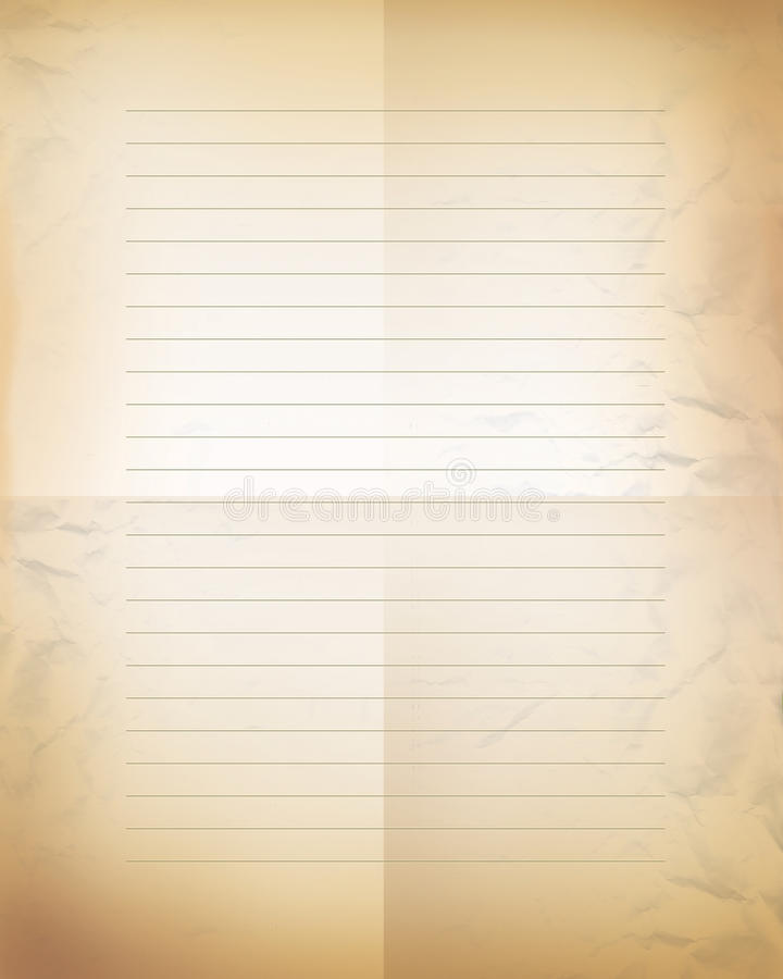 Letter paper background royalty free stock photography