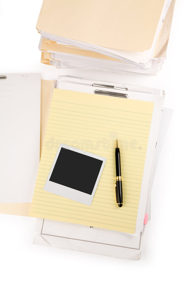 Download Letter paper and pen stock photo. Image of paper, stationery - 2320162