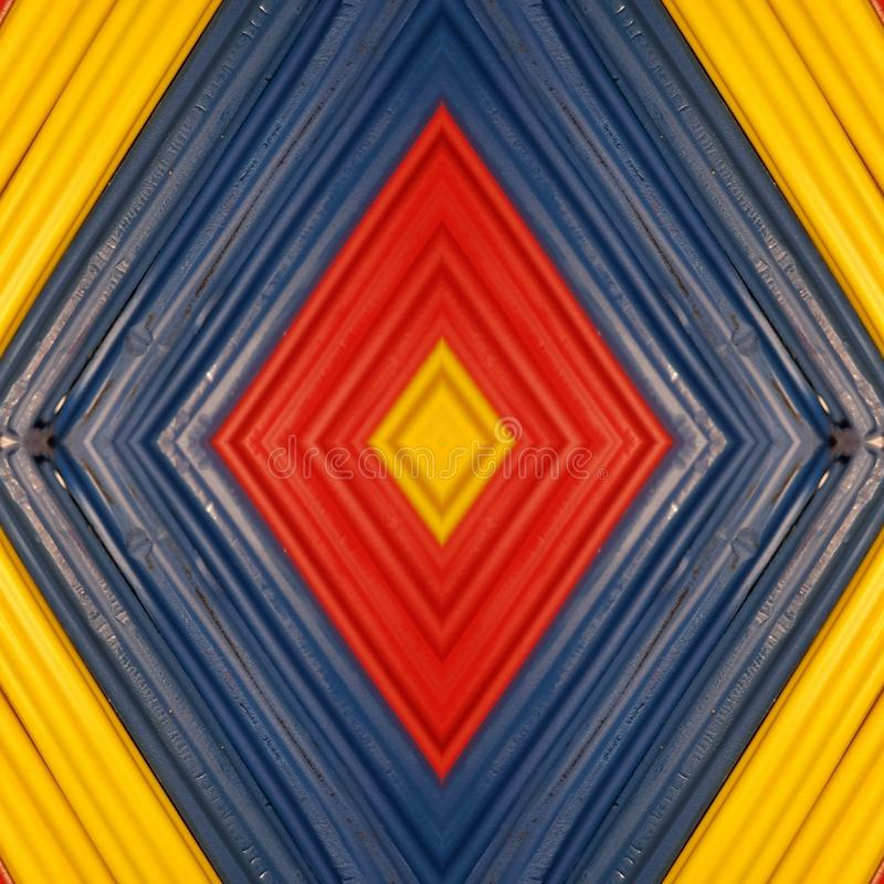 Letter x with pieces of plasticine bars in colors red, yellow and blue, background and texture. Backdrop for color-related announcements, school material for stock photography