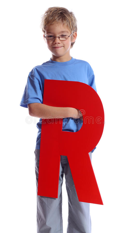 Letter R stock images
