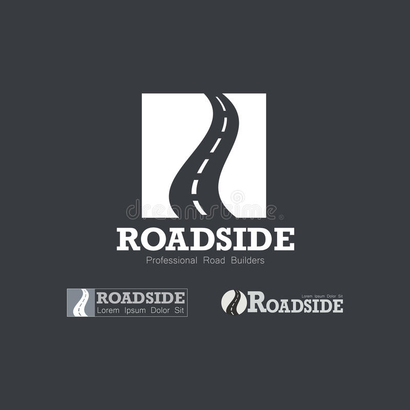 Download Letter R Like Road Type.  Travel, Transportation, And Roadworks Related Logo Design Element Stock Vector - Image: 83703326