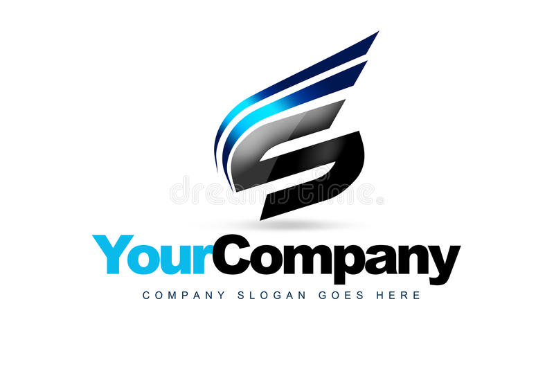 Letter S Logo stock illustration