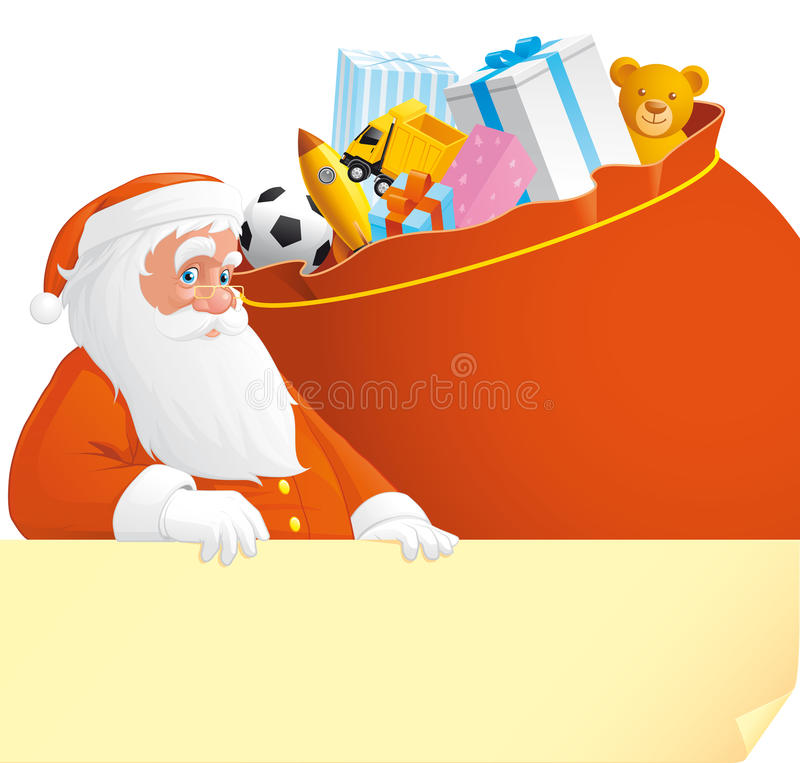 Download Letter for santa stock vector. Image of portrait, bear - 27622196