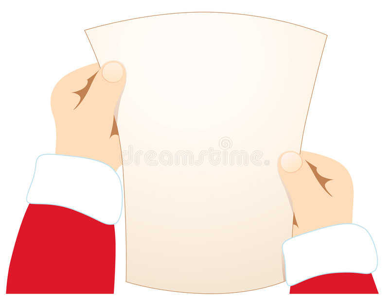 Letter For Santa Royalty Free Stock Photography