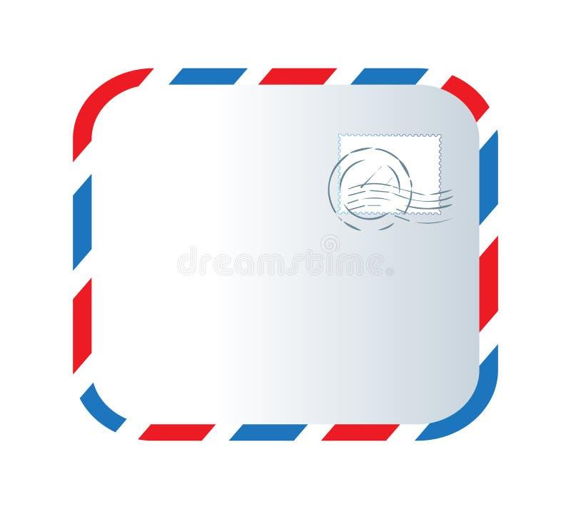 Download Letter And Stamp Design Stock Illustration - Image: 83706178