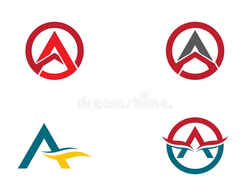 Letter a symbol illustration design. A letter logo vector icon illustration design, corporate, abstract, symbol, font, abc, accurate, achieved, advertising vector illustration